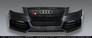 Audi_a4_b8_bumper_grille_led_matchpaint_x2