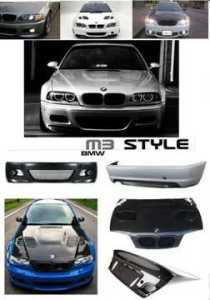 e46_3_series_m3_style_front_bumper_headlights_tail_lights_exhaust_99607588984475517